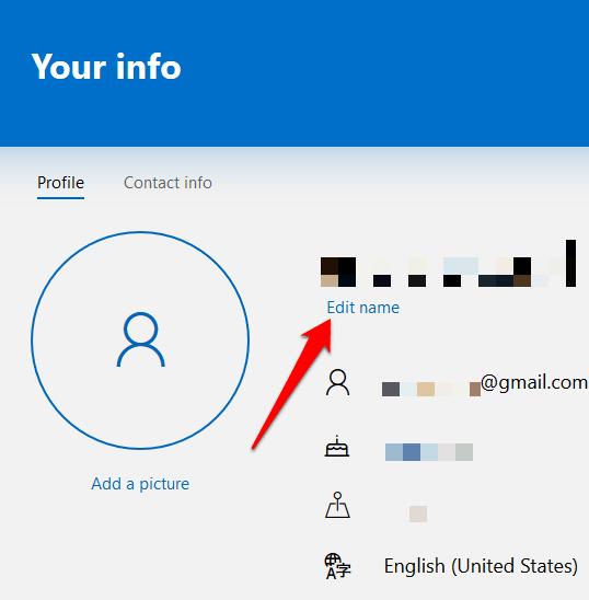 1607977353 748 Comment changer votre nom dutilisateur sur Windows 10