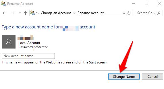 1607977353 800 Comment changer votre nom dutilisateur sur Windows 10