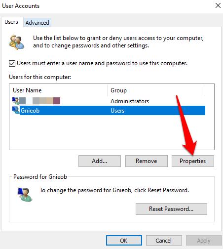 1607977355 636 Comment changer votre nom dutilisateur sur Windows 10