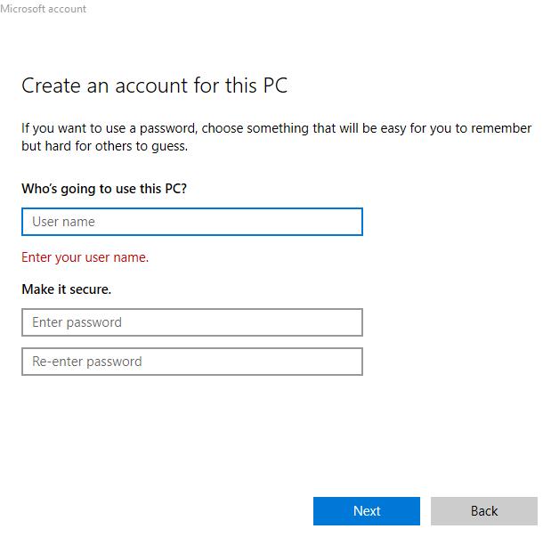 1607977356 935 Comment changer votre nom dutilisateur sur Windows 10