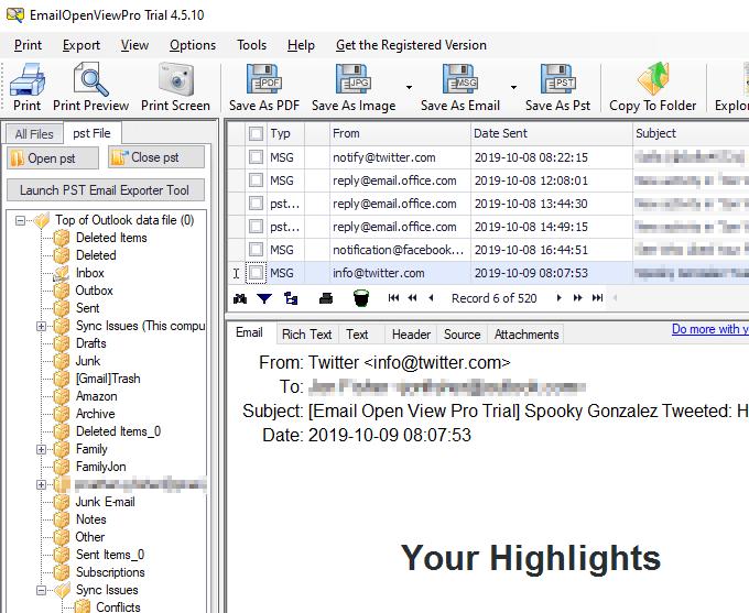 1607977930 368 Comment convertir en masse des fichiers Outlook PST dans un