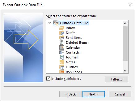 1607977930 765 Comment convertir en masse des fichiers Outlook PST dans un