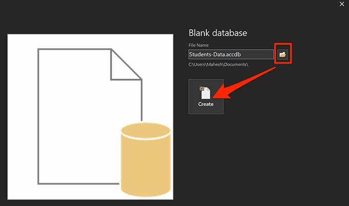 1607982282 145 Comment creer une base de donnees avec Microsoft Access