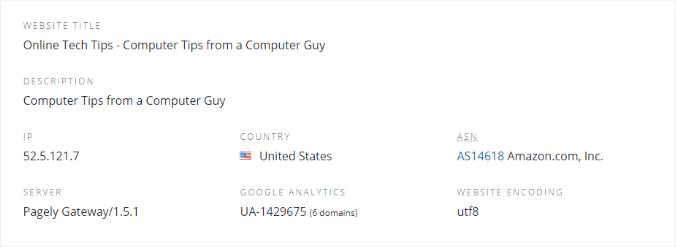 1607995810 436 Rechercher les backlinks les redirections et les adresses IP partagees