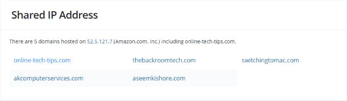 1607995810 985 Rechercher les backlinks les redirections et les adresses IP partagees