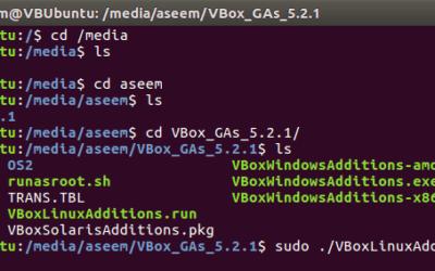 Comment installer les additions invité VirtualBox dans Ubuntu