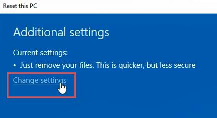 1608011999 377 3 facons deffacer et de reinstaller Windows 10