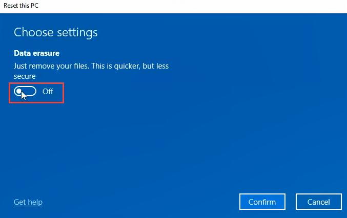 1608011999 499 3 facons deffacer et de reinstaller Windows 10