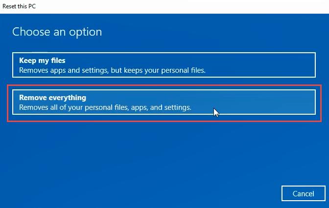 1608011999 531 3 facons deffacer et de reinstaller Windows 10