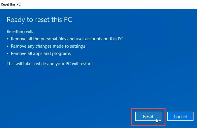 1608011999 612 3 facons deffacer et de reinstaller Windows 10