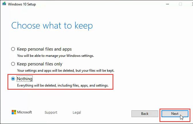 1608012002 161 3 facons deffacer et de reinstaller Windows 10