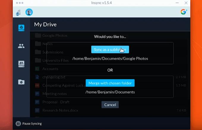 1608017552 594 Comment synchroniser Ubuntu sur votre Google Drive