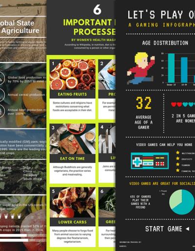 5 outils gratuits pour créer des infographies professionnelles