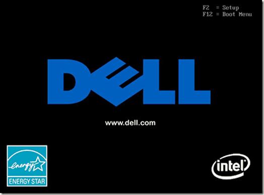 Écran Bios Dell