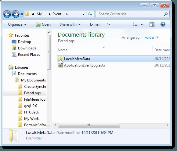 Dossier d'informations sur les métadonnées
