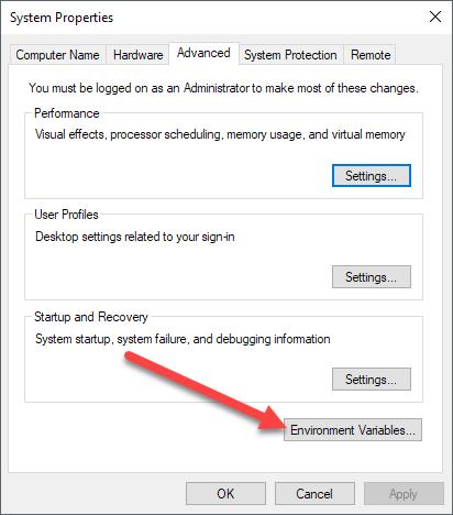 1608058651 541 Comment ajouter a la variable denvironnement PATH Windows