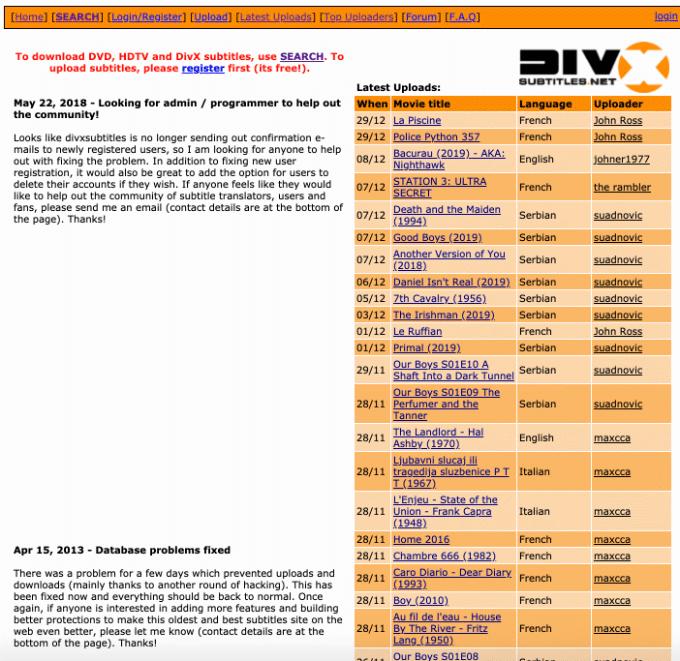 1608061690 768 6 meilleurs sites pour telecharger gratuitement des sous titres de films