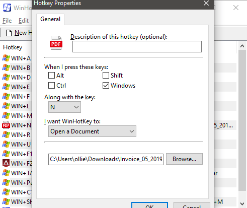 1608077875 52 Creer des raccourcis clavier personnalises pour tout dans Windows 10