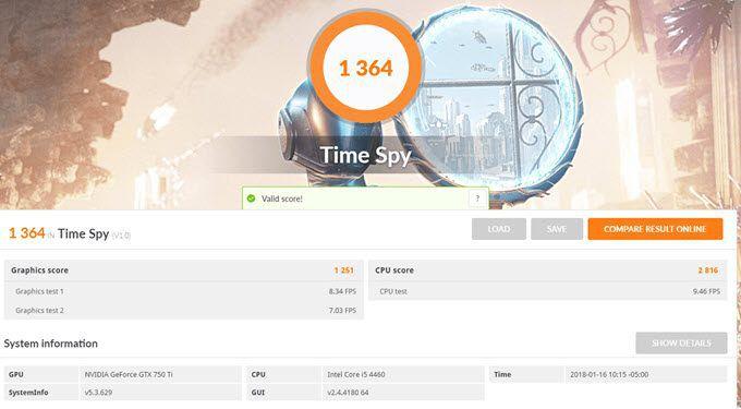 1608102435 484 3 outils gratuits pour comparer un PC de jeu Windows