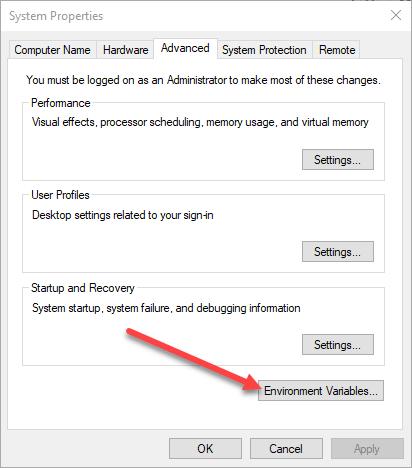 1608109622 779 Creer des variables denvironnement personnalisees dans Windows