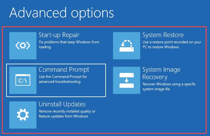 1608126358 95 Comment reparer un volume de demarrage non montable dans Windows
