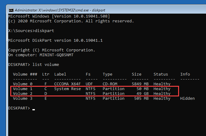 1608126364 85 Comment reparer un volume de demarrage non montable dans Windows