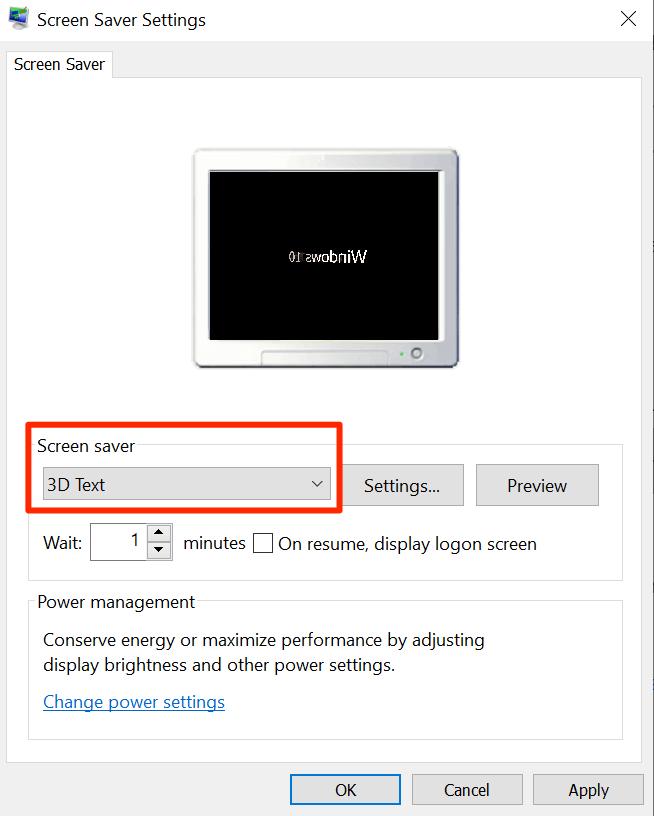 1608142742 846 Comment reparer leconomiseur decran ne fonctionne pas sous Windows 10