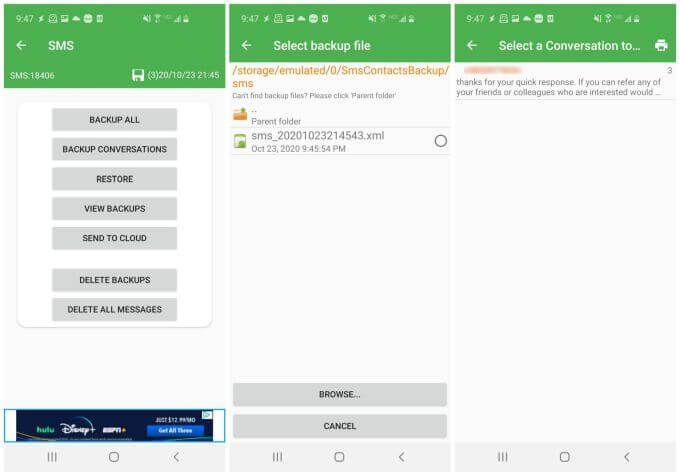 1608157960 375 Comment imprimer des messages texte depuis Android