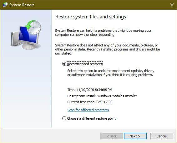 1608167545 860 Comment reparer lerreur Werfaultexe dans Windows 10