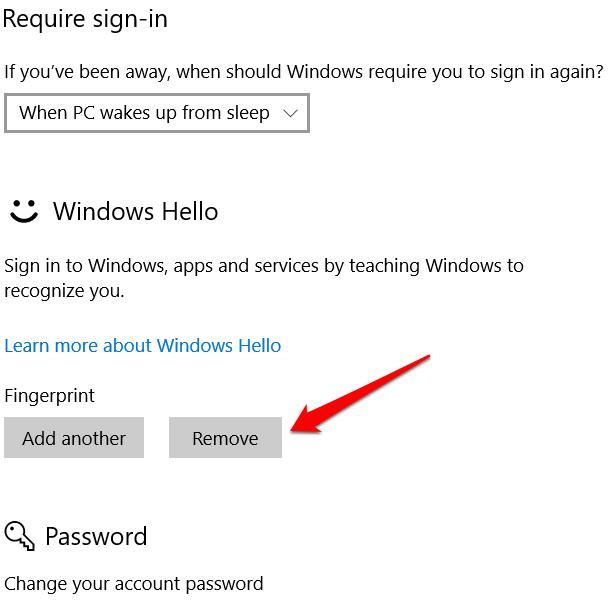 1608173138 649 Comment reparer lempreinte digitale Windows Hello ne fonctionne pas dans