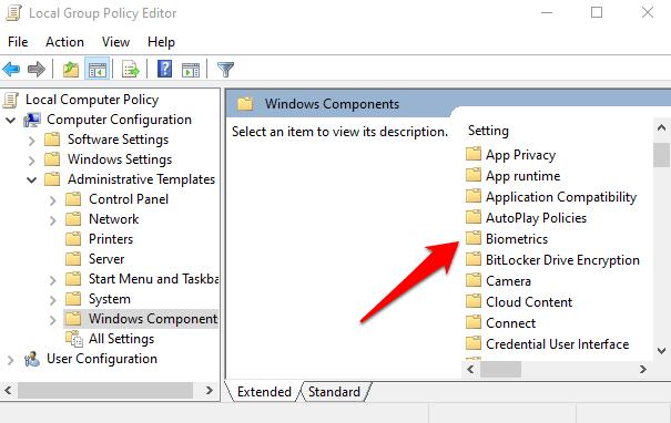 1608173139 249 Comment reparer lempreinte digitale Windows Hello ne fonctionne pas dans