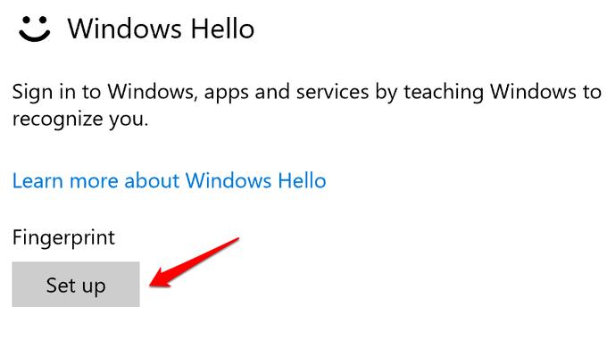 1608173141 4 Comment reparer lempreinte digitale Windows Hello ne fonctionne pas dans