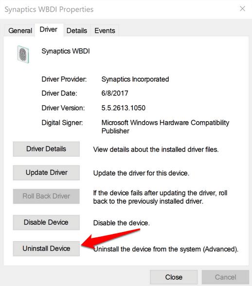 1608173142 403 Comment reparer lempreinte digitale Windows Hello ne fonctionne pas dans