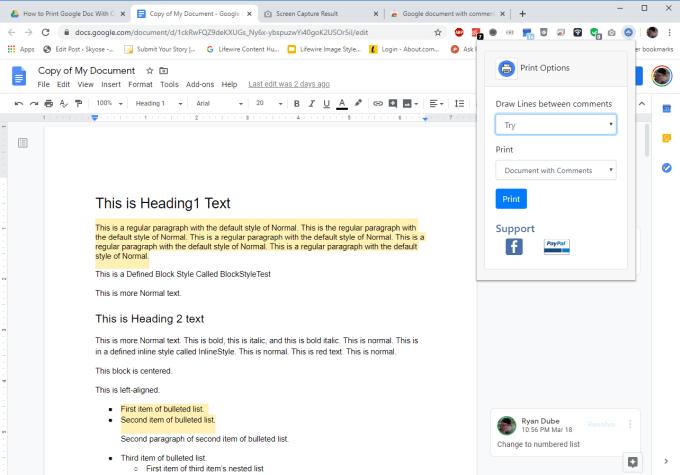 1608198614 555 Comment imprimer un document Google avec des commentaires