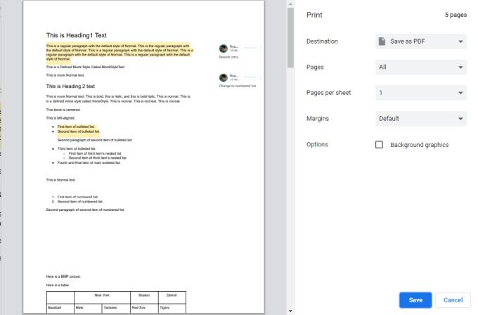 1608198615 506 Comment imprimer un document Google avec des commentaires