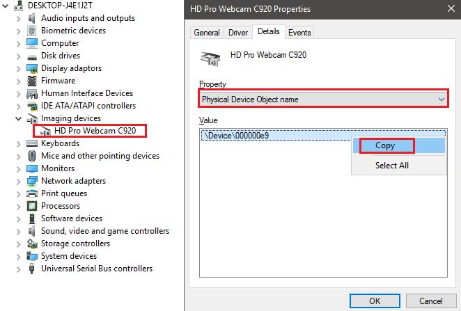 1608200506 718 Comment savoir quelle application utilise votre webcam sous Windows 10
