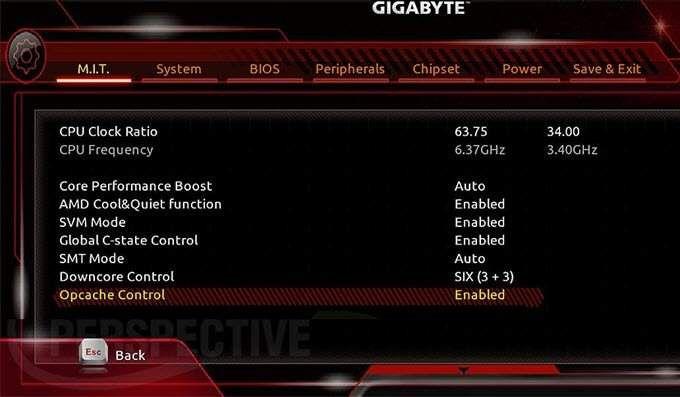 1608236249 126 Comment overclocker votre processeur Ryzen 5 1500x carte mere Gigabyte
