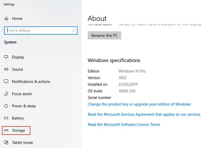 1608261348 564 Comment desactiver le stockage reserve sur Windows 10