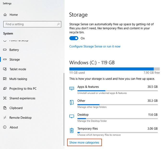 1608261348 64 Comment desactiver le stockage reserve sur Windows 10
