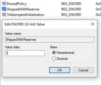 1608261350 963 Comment desactiver le stockage reserve sur Windows 10