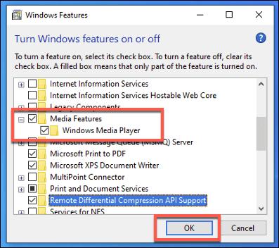 1608272644 417 Comment telecharger Windows Media Player 12 pour Windows 10
