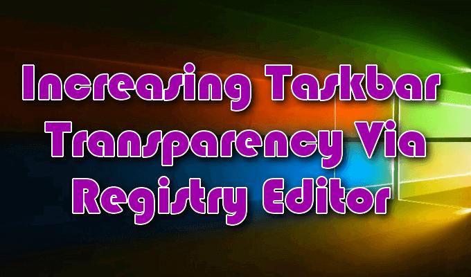 1608283727 248 Comment activer ou desactiver les effets de transparence dans Windows