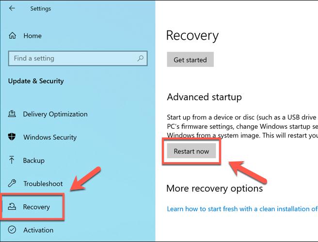 1608291075 890 Comment entrer dans le BIOS dans Windows 10 et les