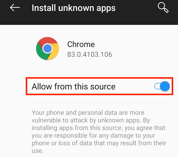 1608353266 491 Comment installer des applications Android a laide du fichier APK
