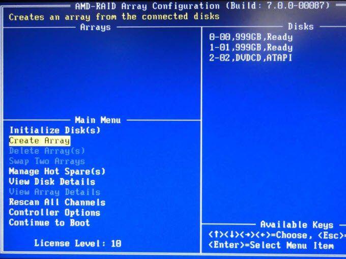 1608360580 118 Comment installer et configurer des disques Raid Raid 0 et