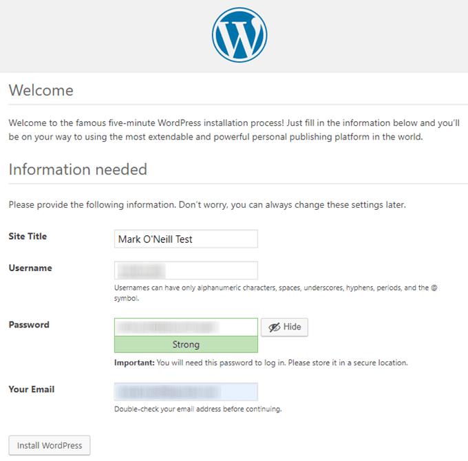 1608364248 618 Comment installer une version test de WordPress sur votre ordinateur