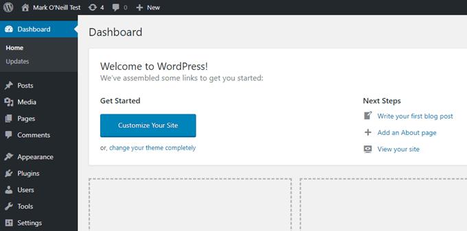 1608364249 372 Comment installer une version test de WordPress sur votre ordinateur