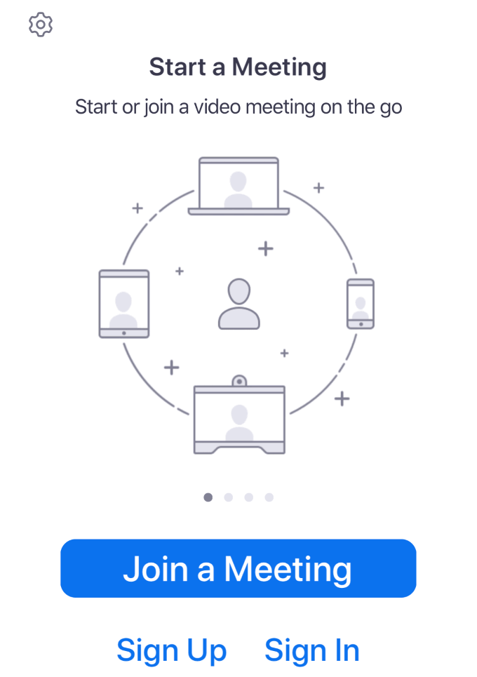 1608382476 112 Comment organiser une reunion Zoom Cloud sur un smartphone ou