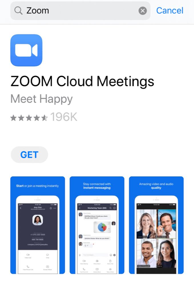 1608382476 243 Comment organiser une reunion Zoom Cloud sur un smartphone ou