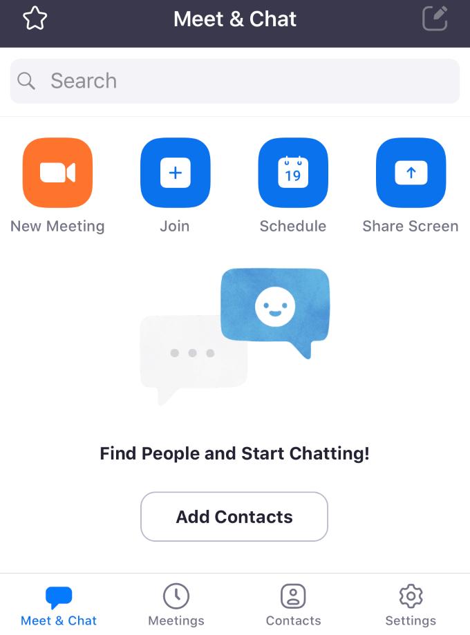1608382476 570 Comment organiser une reunion Zoom Cloud sur un smartphone ou